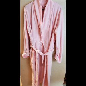 Gilligan & O'Malley Pink Sleep Bathrobe XL